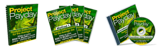 project payday books,cd,video