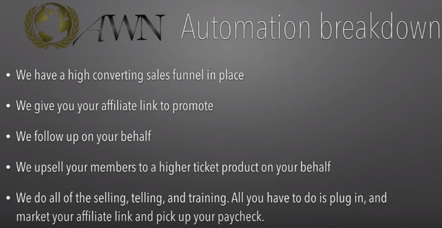 promote any biz with automated wealth network