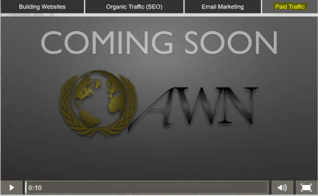 awn paid traffic coming soon