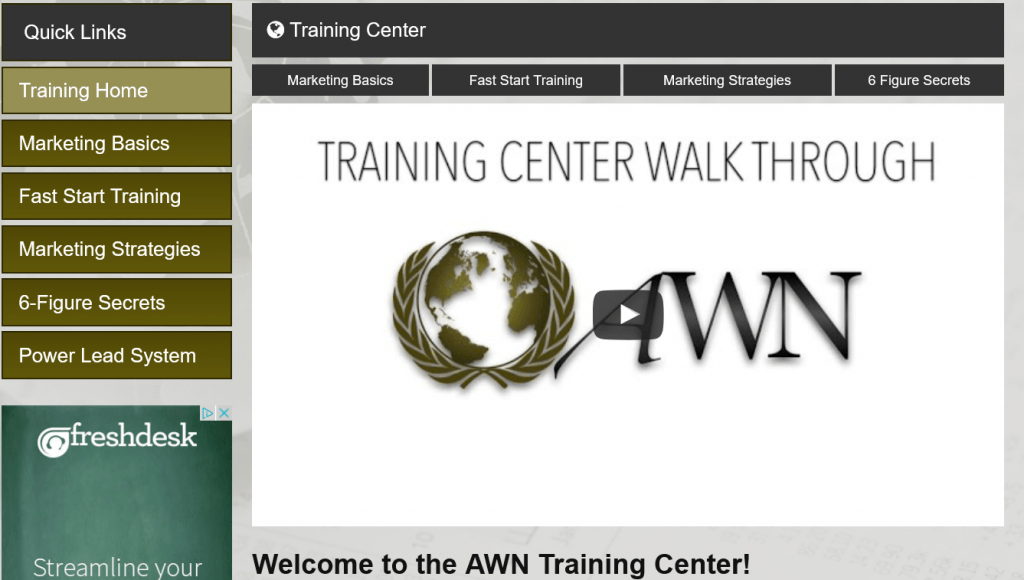 automated wealth system training center