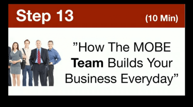 MTTB- How The MOBE Team Builds Your Business Everyday