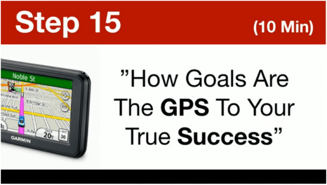 Top tier system- How Goals Are The GPS To Your Success