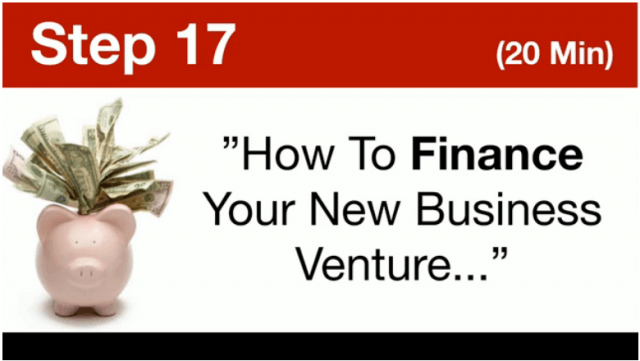 MOBE- How To Finance Your New Business Venture