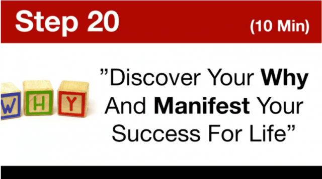 MTTB- Discover Your WHY And Manifest Your Success For Life