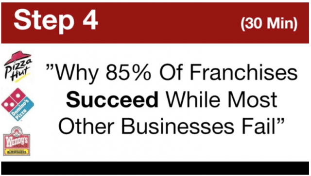 My Top Tier Business- Why 85% Of Franchises Succeed And Most Other Businesses Fail