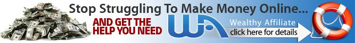 Wealthy Affiliate University- Stop struggling to make money