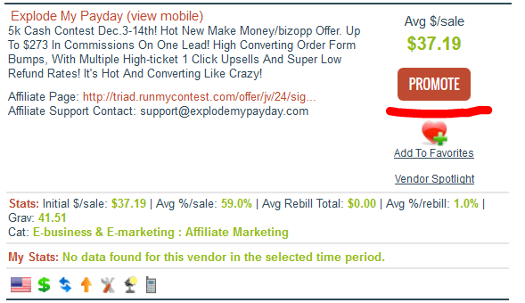 explode my payday clickbank product