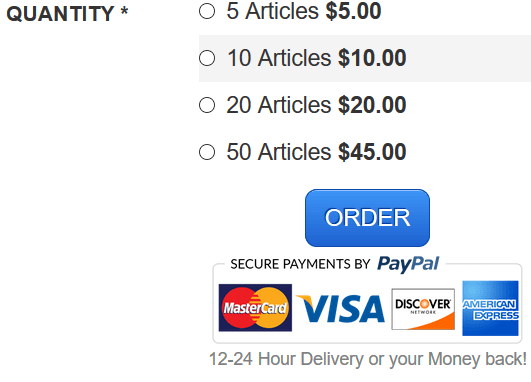 the article factory cost